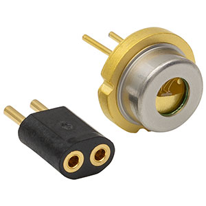 L450G1 - 447 nm, 3000 mW, Ø9 mm, G Pin Code, Laser Diode