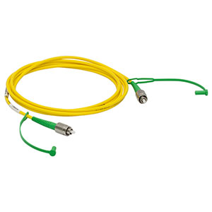 P3-630AR-2 - SM Patch Cable, AR-Coated FC/APC to Uncoated FC/APC, 633 - 780 nm, 2 m