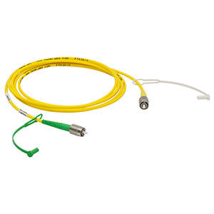 P4-630AR-2 - SM Patch Cable, AR-Coated FC/APC to Uncoated FC/PC, 633 - 780 nm, 2 m