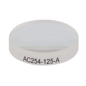 AC254-125-A - f = 125.0 mm, Ø1in Achromatic Doublet, ARC: 400 - 700 nm
