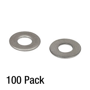 W8S038 - #8 Washer, M4 Compatible, Stainless Steel, Pack of 100