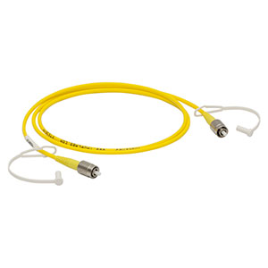 P1-405B-FC-1 - 	Single Mode Patch Cable, 405 - 532 nm, FC/PC, Ø3 mm Jacket, 1 m Long