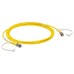 P1-2000-FC-2 - Single Mode Fiber Patch Cable, 2 m, 1700 - 2300 nm, FC/PC, Ø3 mm Jacket