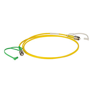 P5-2000-PCAPC-1 - Single Mode Patch Cable, 1700 - 2300 nm, FC/PC to FC/APC, Ø3 mm Jacket, 1 m Long
