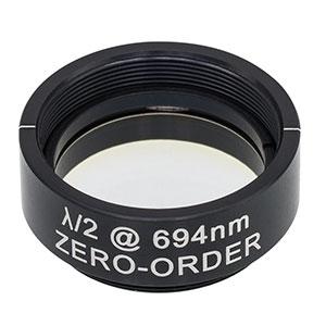 WPH10M-694 - Ø1in Zero-Order Half-Wave Plate, SM1-Threaded