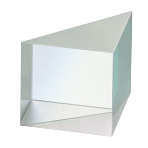 PS915H-C - N-BK7 Right-Angle Prism, 15 mm, AR Coating on Hyp.: 1050-1700 nm
