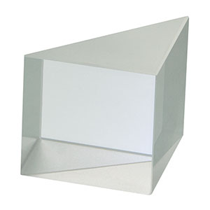PS915L-A - N-BK7 Right-Angle Prism, 15 mm, AR Coating on Legs: 350-700 nm