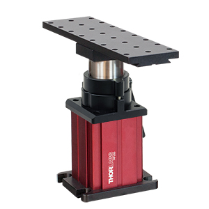 MP100 - Rigid Stand with Platform, Adjustment Height: 148.1 - 208.5 mm