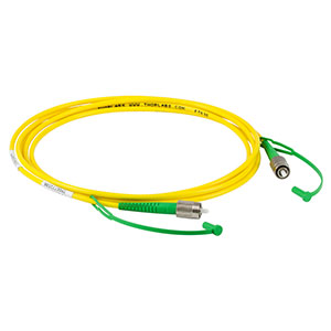 P3-2000AR-2 - SM Patch Cable, AR-Coated FC/APC to Uncoated FC/APC, 1700 - 2100 nm, 2 m