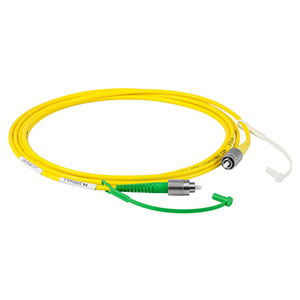 P4-2000AR-2 - SM Patch Cable, AR-Coated FC/APC to Uncoated FC/PC, 1700 - 2100 nm, 2 m