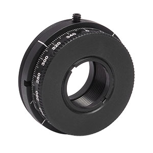 CRM05 - Rotation Mount for Ø1/2in (Ø12.7 mm) Optics, External SM1 Threads