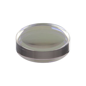 354260-B - f = 15.29 mm, NA = 0.16, Unmounted Geltech Aspheric Lens, AR: 600 - 1050 nm