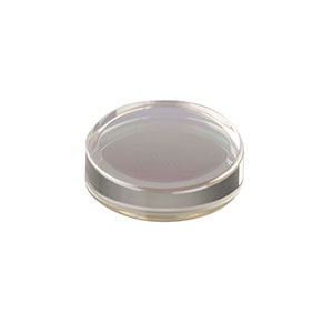 354260-C - f = 15.29 mm, NA = 0.16, Unmounted Geltech Aspheric Lens, AR: 1050-1700 nm