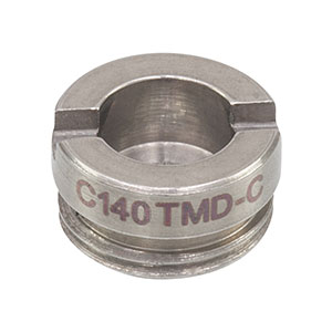 C140TMD-C - f = 1.45 mm, NA = 0.58, Mounted Geltech Aspheric Lens, AR: 1050-1700 nm