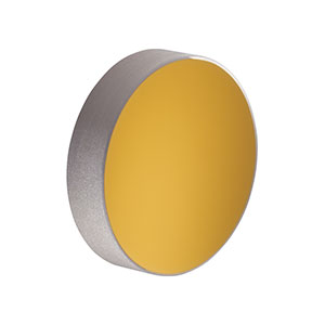 PF07-03-M01 - Ø19.0 mm Protected Gold Mirror