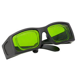 LG2A - Laser Safety Glasses, Green Lenses, 19% Visible Light Transmission, Comfort Style