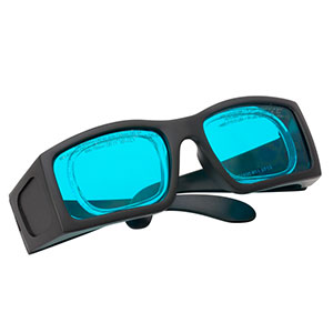 LG7A - Laser Safety Glasses, Teal Lenses, 35% Visible Light Transmission, Comfort Style