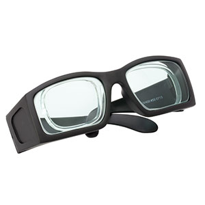 LG11A - Laser Safety Glasses, Clear Lenses, 75% Visible Light Transmission, Comfort Style