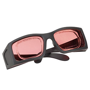 LG14A - Laser Safety Glasses, Topaz Lenses, 47% Visible Light Transmission, Comfort Style