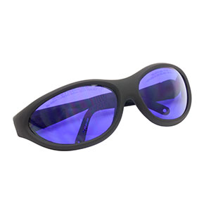 LG15B - Laser Safety Glasses, Purple Lenses, 15% Visible Light Transmission, Sport Style
