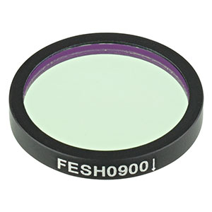 FESH0900 - Ø25.0 mm Premium Shortpass Filter, Cut-Off Wavelength: 900 nm