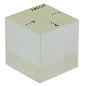PBS514 - 2in Polarizing Beamsplitter Cube, 1200 - 1600 nm