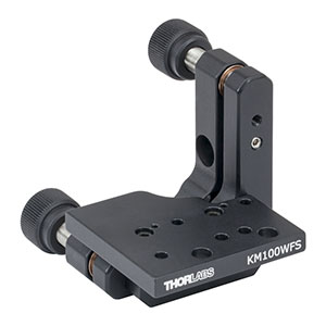 KM100WFS - Kinematic Mount for Thorlabs' Wavefront Sensors