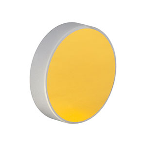 PF10-03-M03 - Ø1in (25.4 mm) Unprotected Gold Mirror
