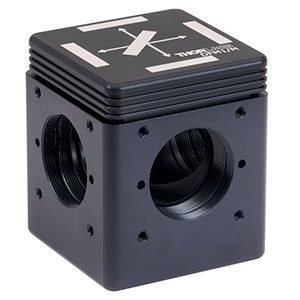 DFM1/M - Kinematic Fluorescence Filter Cube, 30 mm Cage Compatible, Right-Turning, M6 Tapped Holes