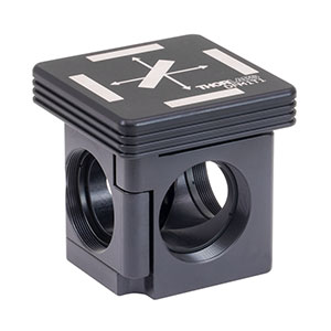 DFM1T1 - Kinematic Cage Cube Top for Fluorescence Filter Sets, Right-Turning