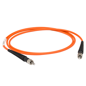 M112L01 - Ø200 µm, 0.22 NA, SMA-SMA Solarization-Resistant Patch Cable, 1 m
