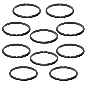 SM1RR-P10 - SM1 Retaining Ring for Ø1in Lens Tubes and Mounts, 10 Pack