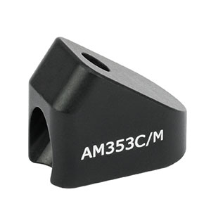 AM353C/M - 35.3° Angle Block, M4 Counterbore, M4 Post Mount