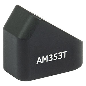 AM353T - 35.3° Angle Block, 8-32 Tap, 8-32 Post Mount