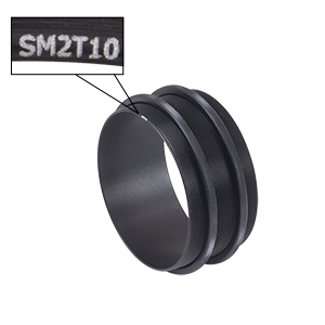 SM2T10 - SM2 (2.035in-40) Coupler, External Threads, 1in Long
