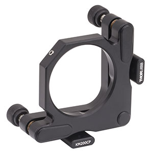 KM200CP - Kinematic Mirror Mount for Ø2in Optics with Post-Centered Front Plate, 8-32 Taps