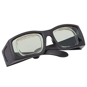 LG16A - Laser Safety Glasses, Gray Lenses, 41% Visible Light Transmission, Comfort Style