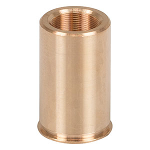 F6MSSN1P - Threaded Bushing, Phosphor Bronze, M6 x 0.25