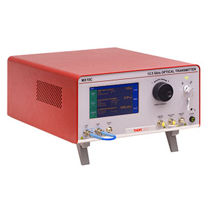 MX10C-LB - High-Speed Optical Transmitter, L-Band Laser, Phase Modulator, 12.5 Gb/s Max
