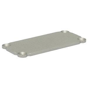 EEBEP - Blank End Plate for Customizable Electronics Housing, 1.00in x 2.25in