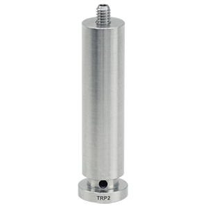 TRP2 - Ø0.47in Pedestal Pillar Post, 8-32 Setscrew, 1/4in-20 Tap, L = 2.0in