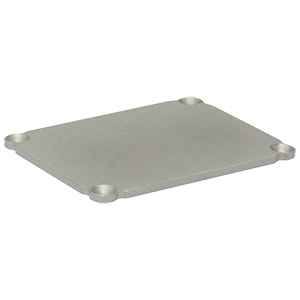 EEDEP - Blank End Plate for Customizable Electronics Housing, 1.75in x 2.25in
