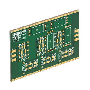EEB33PCB1 - Unpopulated Printed Circuit Board for EEB3311 Housing, Six Component Groups