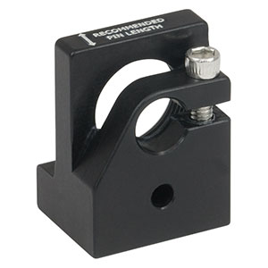 LMF56R - Post-Mountable Laser Diode and Strain Relief Mount for Ø5.6 mm Packages, 8-32 Tap