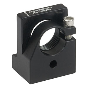 LMF9R - Post-Mountable Laser Diode and Strain Relief Mount for Ø9 mm Packages, 8-32 Tap