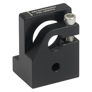 LMF18R/M - Post-Mountable Laser Diode and Strain Relief Mount for TO-18 Packages, M4 Tap