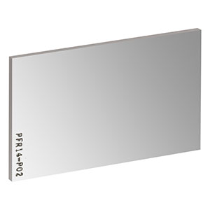 PFR14-P02 - 35 mm x 52 mm Protected Silver Mirror, 2.0 mm Thick