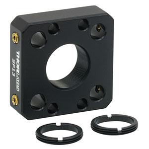SP13 - 16 mm Cage Plate for Ø11 mm Optic, 2 SM11RR Retaining Rings Included