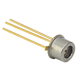 FGA015 - InGaAs Photodiode, 300 ps Rise Time, 800-1700 nm, Ø150 µm Active Area