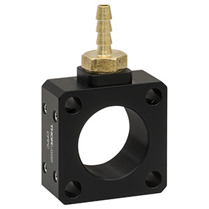 CPPC - Ø1in Lens Tube Purge Connector, 8-32 Taps
